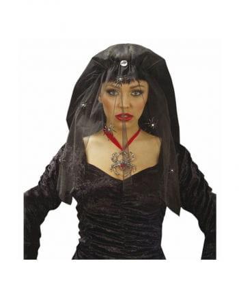 Schwarze Witwe Schleier