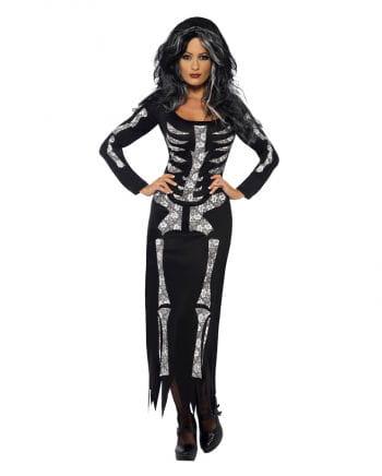 Elegant skeleton tube dress