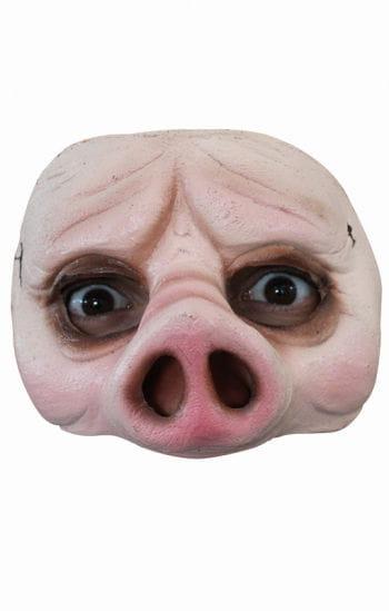 Schweinische Halbmaske