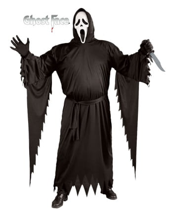 Scream Costume XL with Mask