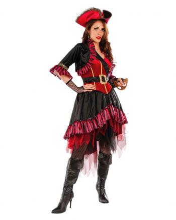 Piraten Lady Kostüm mit Dreispitz