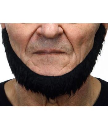 Schwarzer selbstklebender Seefahrer Bart