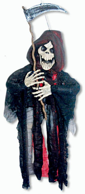 Grim Reaper Hanging Prop