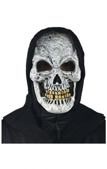 Weißer Totenkopf Maske