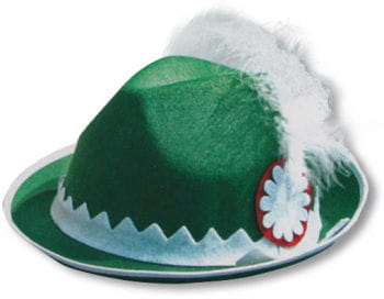 Traditional Bavarian Hat Green