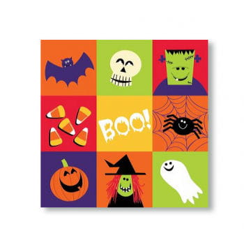 Napkins Spooky Friends