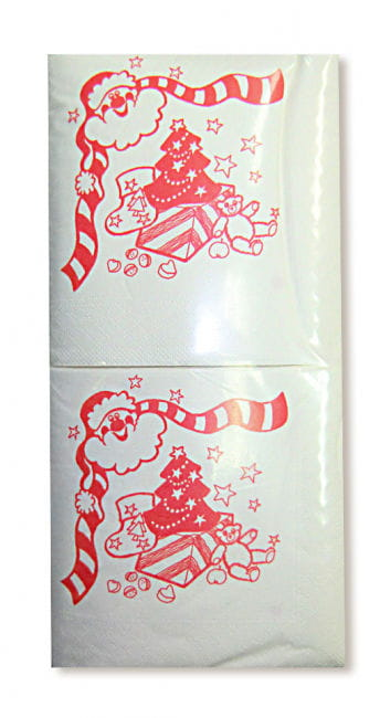 Napkins with Christmas Design 250 PCS