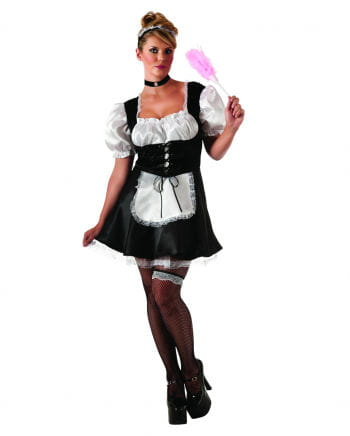 Sexy Housemaid Costume Plus Size