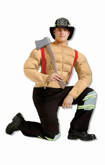 Pin Up Feuerwehrmann Kostüm