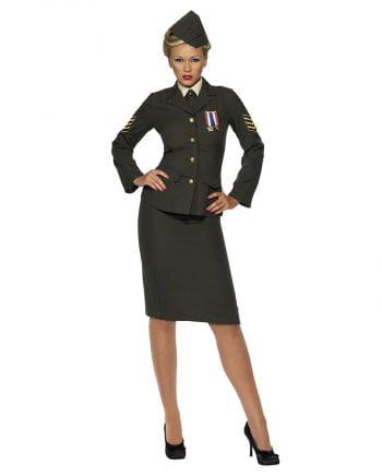 Sexy Soldatin Kostüm Plus Size