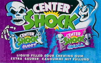 Shock Ghost Skull Chewing Gum
