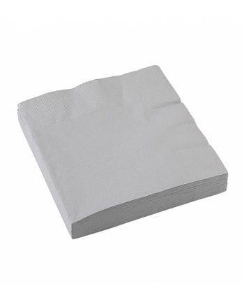 Silber Papierservietten 20 St.