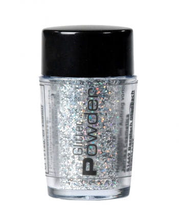 Glitter Powder in Silver spreader