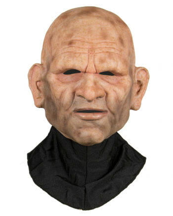 Silicone Half Mask Old Man