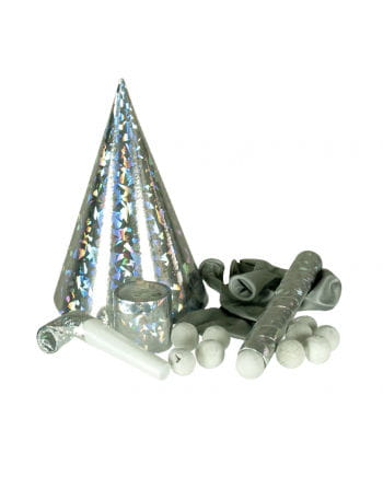 Silvesterparty Set Deluxe silver
