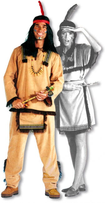Sioux Male Indian Costume