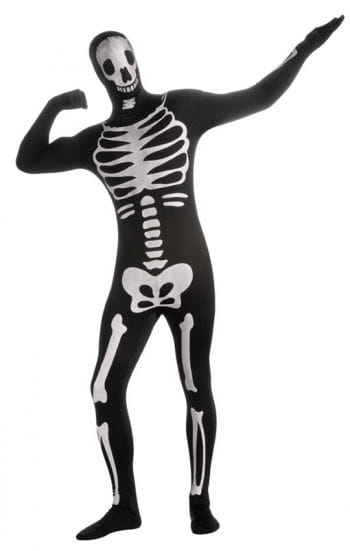 Skeleton Skin Suit XL