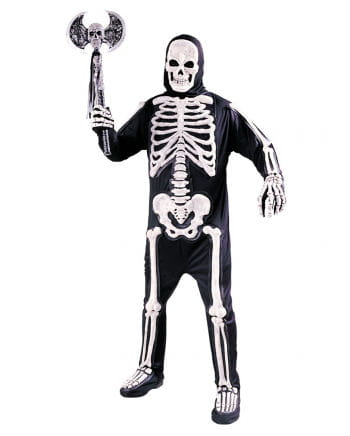 3D Skelett Kostüm Adult