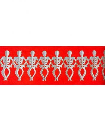 Skelett Girlande 300 cm