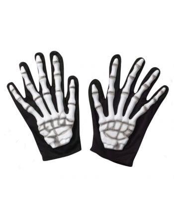 Skelett Handschuhe Blank