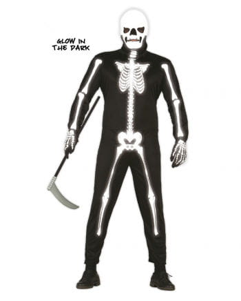 Skeleton Jumpsuit Glow in the Dark