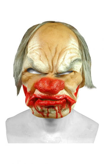 Smiley Horror Clown Premium Mask