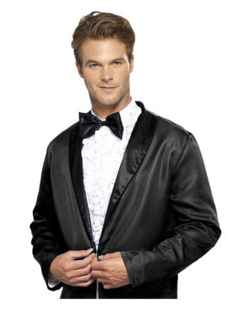 Tuxedo shirt with bow tie use
