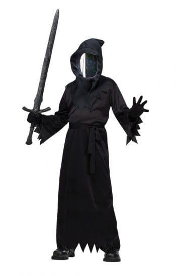 Phantom Kostüm mit Spiegelmaske