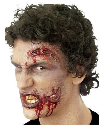 Klaffende Zombie Wunde