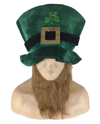 Party Hut St. Patrick's Day mit Bart