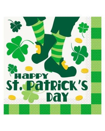 St. Patrick`s Day napkins