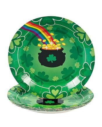 Kleine St. Patrick's Day Dessertteller
