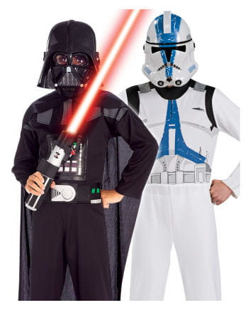 Darth Vader & Clone Trooper Costume Set
