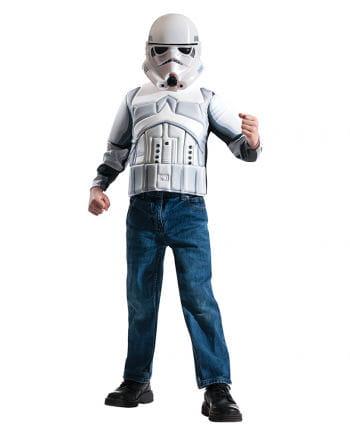 stormtrooper kinderkost m set lizenzierter star wars fanartikel karneval universe. Black Bedroom Furniture Sets. Home Design Ideas