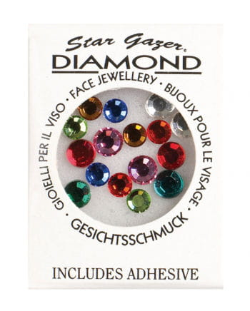 Stargazer Face Diamonds Coloured