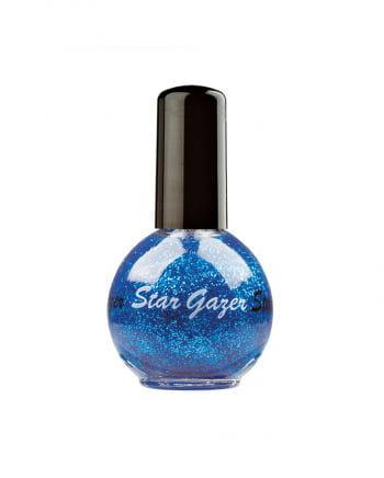 Stargazer nail polish blue metallic