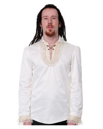 Steampunk Hemd creme