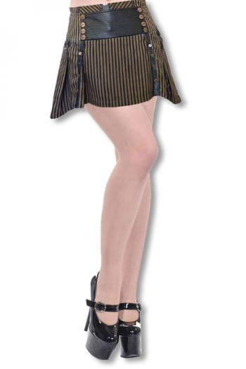 Steampunk Mini Skirt