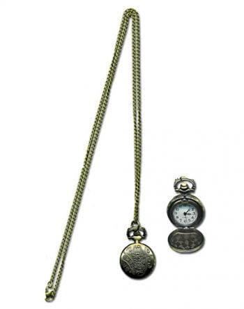 Steampunk Halskette mit Uhr