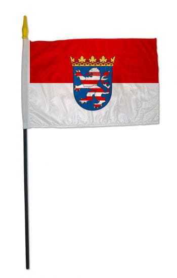 Stock flag state of Hesse