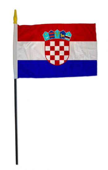 Stock Flag CROATIA