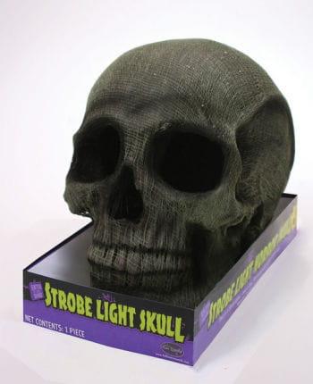 Strobe Light Skull Green