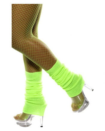 Strickstulpen Neon-Grün