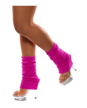 Neon pink legwarmers