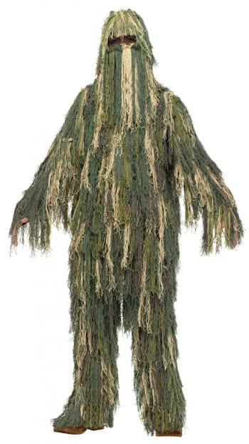 Dschungel Tarn-Anzug Kinderkostüm