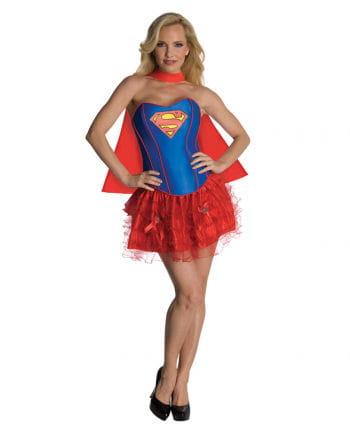 Sexy Supergirl Corsagen Kostüm