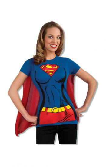 T-Shirt Supergirl mit Cape