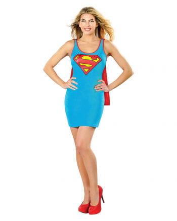 Supergirl Shirt-Kleid mit Umhang
