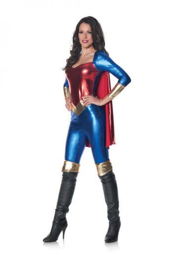 Superheldin Bodysuit XL