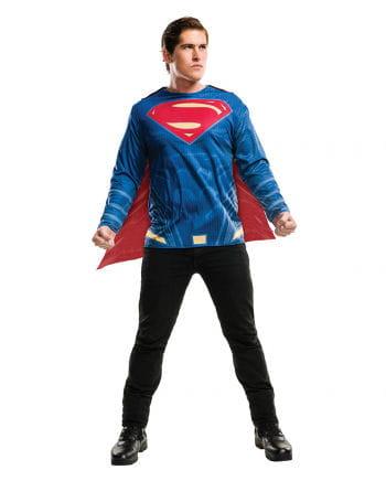 Superman Kostümshirt & Cape für Erwachsene